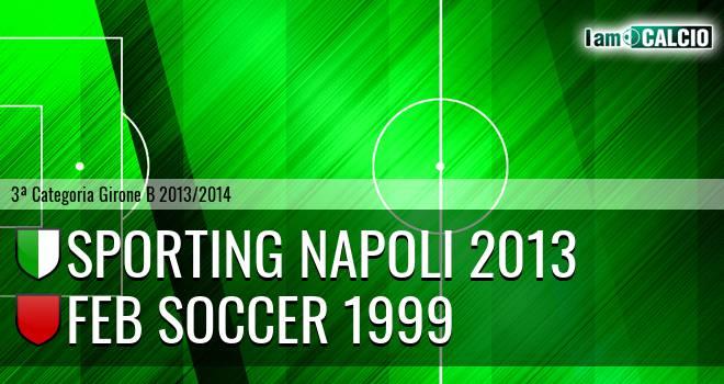 Sporting Napoli 2013 - Feb Soccer 1999