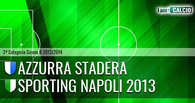 Azzurra Stadera - Sporting Napoli 2013