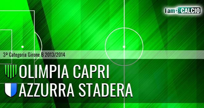 Olimpia Capri - Azzurra Stadera