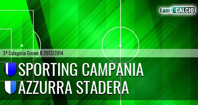 Sporting Campania - Azzurra Stadera