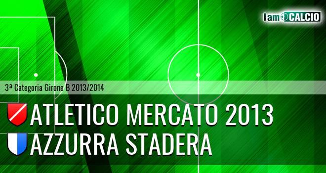 Atletico Mercato 2013 - Azzurra Stadera