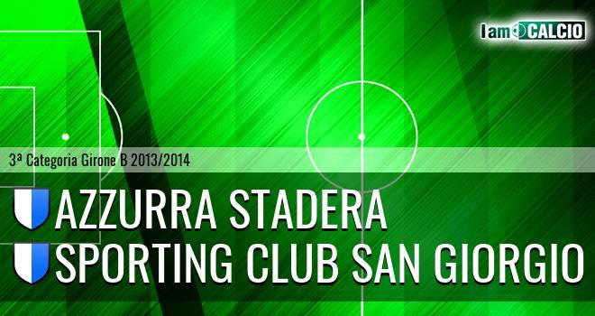 Azzurra Stadera - Sporting Club San Giorgio