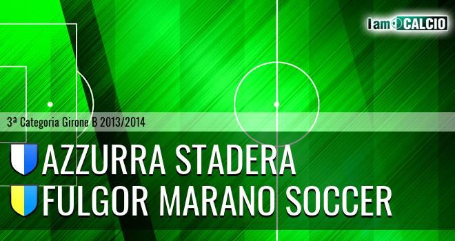 Azzurra Stadera - Fulgor Marano Soccer