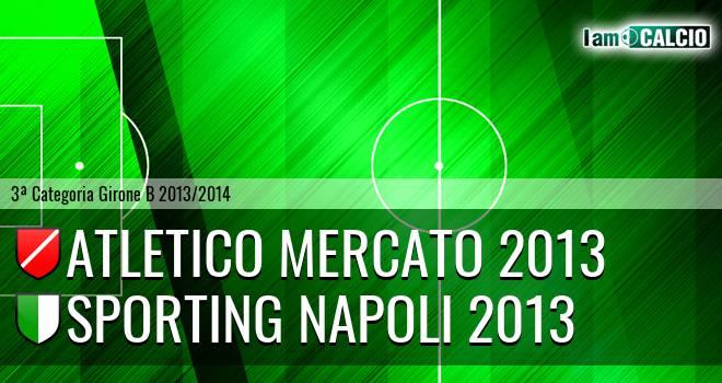 Atletico Mercato 2013 - Sporting Napoli 2013