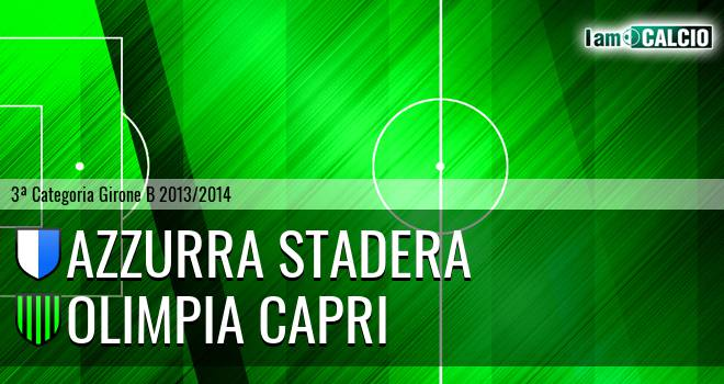 Azzurra Stadera - Olimpia Capri