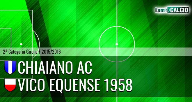 Chiaiano AC - Vico Equense 1958