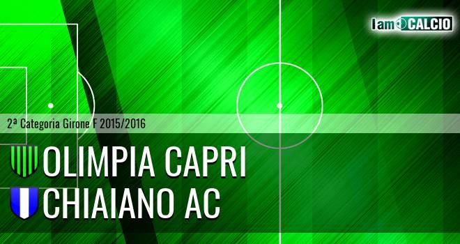 Olimpia Capri - Chiaiano AC