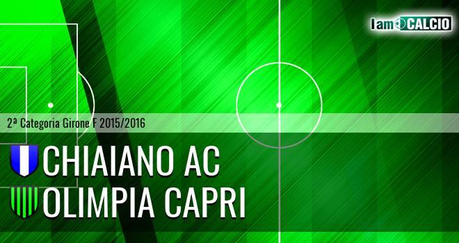 Chiaiano AC - Olimpia Capri