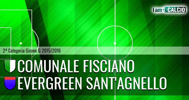 Comunale Fisciano - Evergreen Sant'Agnello