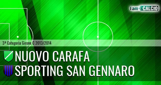 Nuovo Carafa - Sporting San Gennaro