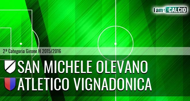 San Michele Olevano - Atletico Vignadonica