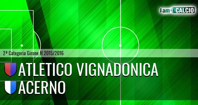 Atletico Vignadonica - Acerno
