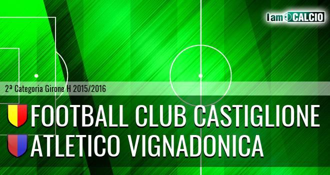 Football Club Castiglione - Atletico Vignadonica