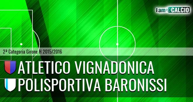 Atletico Vignadonica - Polisportiva Baronissi