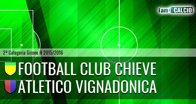 Football Club Chieve - Atletico Vignadonica