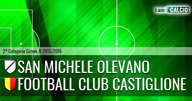 San Michele Olevano - Football Club Castiglione