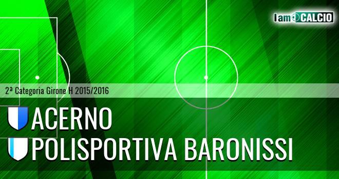 Acerno - Polisportiva Baronissi