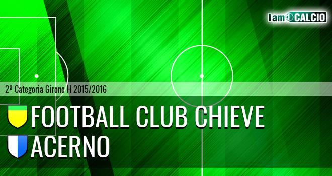 Football Club Chieve - Acerno