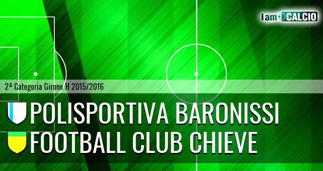 Polisportiva Baronissi - Football Club Chieve