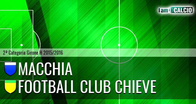 Macchia - Football Club Chieve
