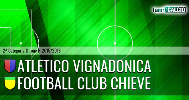 Atletico Vignadonica - Football Club Chieve