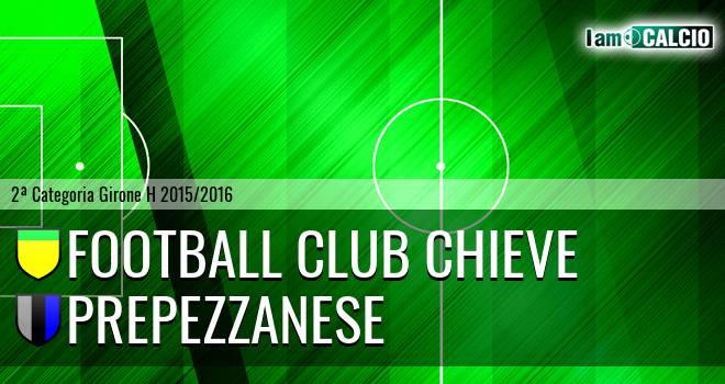 Football Club Chieve - Prepezzanese