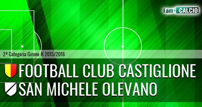 Football Club Castiglione - San Michele Olevano