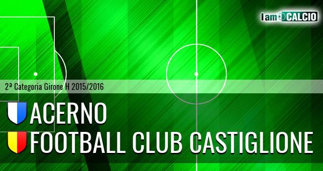 Acerno - Football Club Castiglione