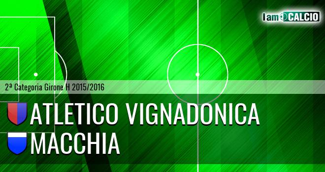 Atletico Vignadonica - Macchia