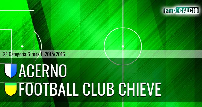 Acerno - Football Club Chieve