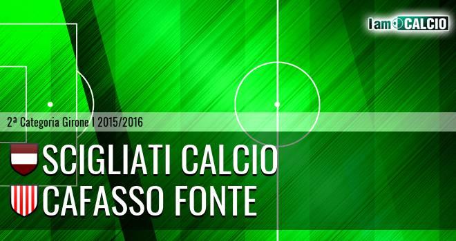 Scigliati Calcio - Cafasso Fonte