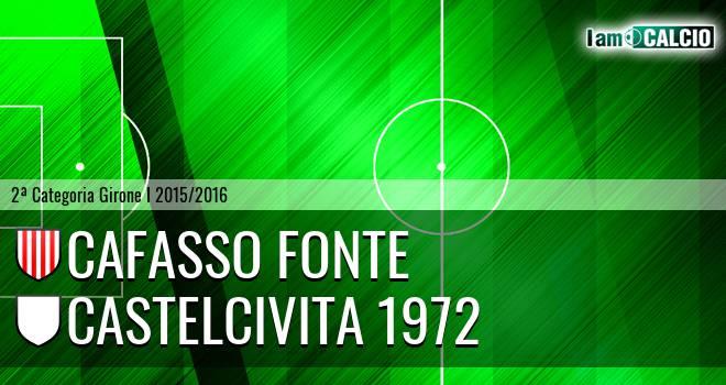 Cafasso Fonte - Castelcivita 1972