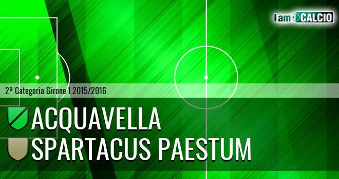 Acquavella - Spartacus Paestum