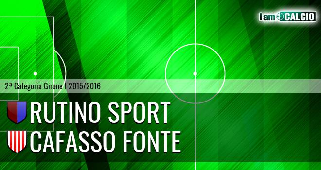 Rutino Sport - Cafasso Fonte