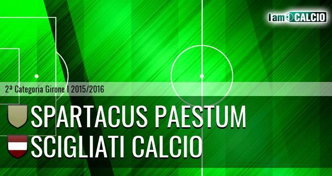 Spartacus Paestum - Scigliati Calcio