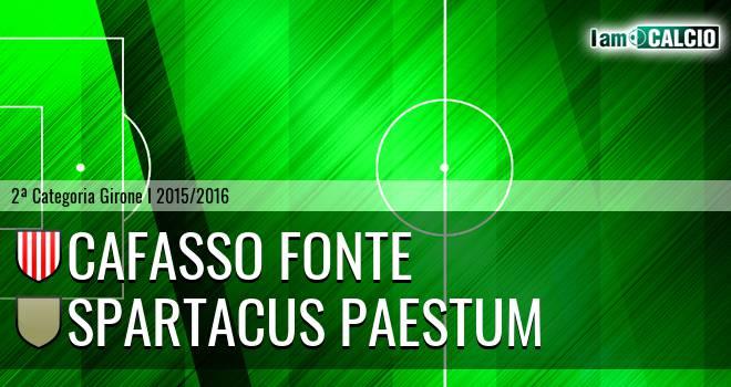 Cafasso Fonte - Spartacus Paestum