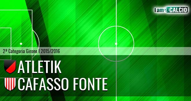 Atletik - Cafasso Fonte