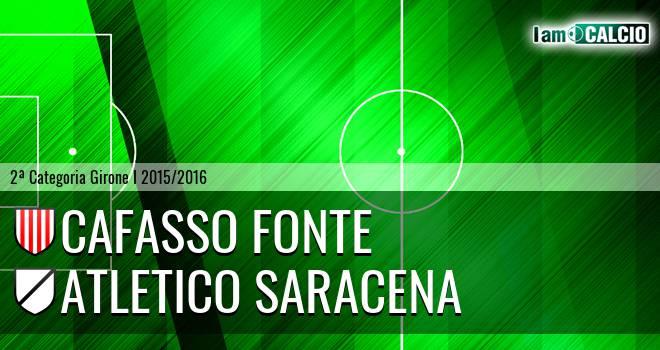 Cafasso Fonte - Atletico Saracena