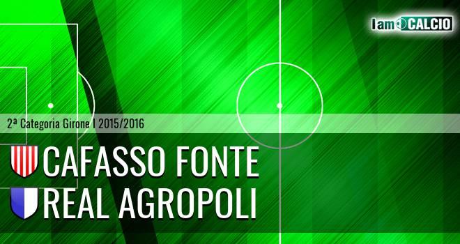 Cafasso Fonte - Real Agropoli