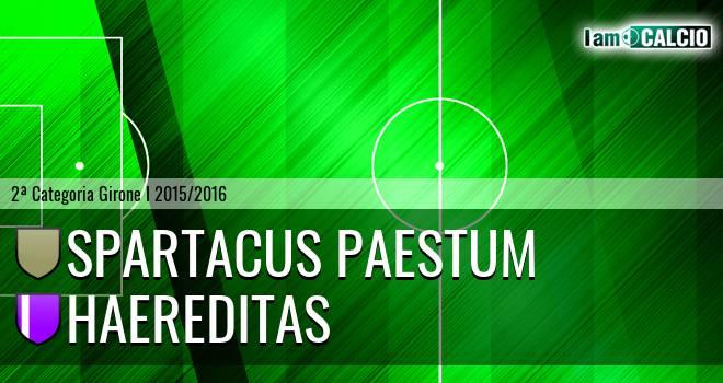 Spartacus Paestum - Haereditas