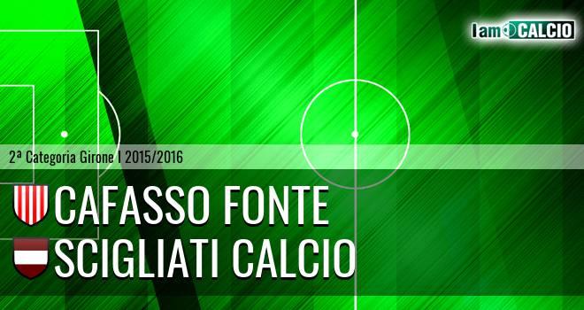 Cafasso Fonte - Scigliati Calcio