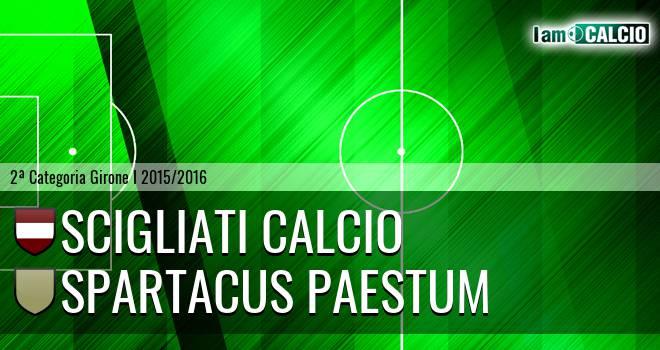 Scigliati Calcio - Spartacus Paestum