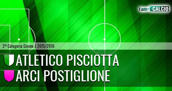 Atletico Pisciotta - Arci Postiglione