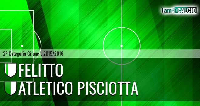 Felitto - Atletico Pisciotta