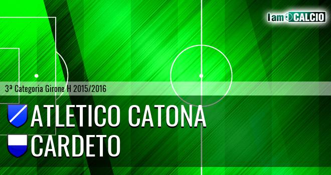 Catona Calcio - Cardeto