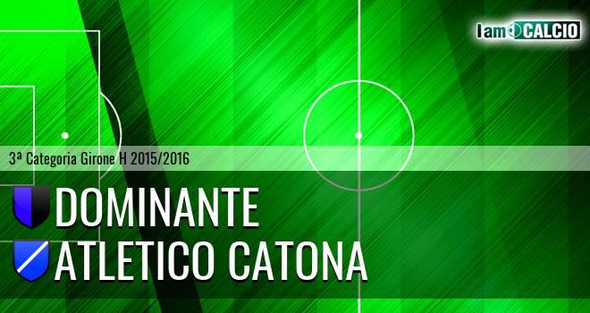 Dominante - Catona Calcio