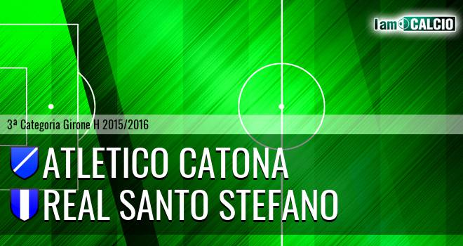 Catona Calcio - Real Santo Stefano