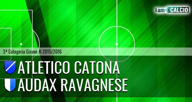 Catona Calcio - Audax Ravagnese