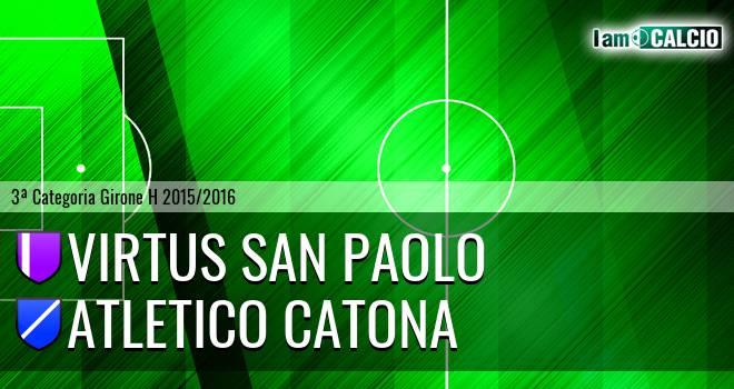 Virtus San Paolo - Catona Calcio