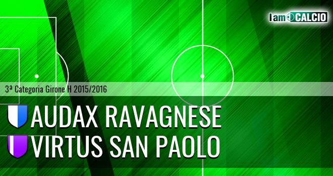 Audax Ravagnese - Virtus San Paolo